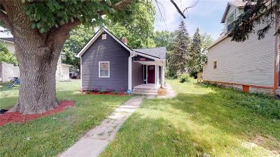 Indianapolis Single Family Home For Sale: 637 North Oxford Street
