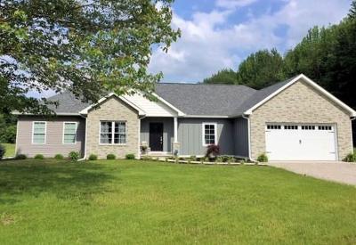 North Vernon Single Family Home For Sale: 1350 North County Road 75 E