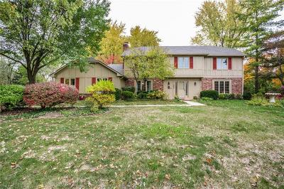 Zionsville Single Family Home For Sale: 235 Governors Lane