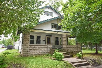 Greenfield Single Family Home For Sale: 503 West Main Street