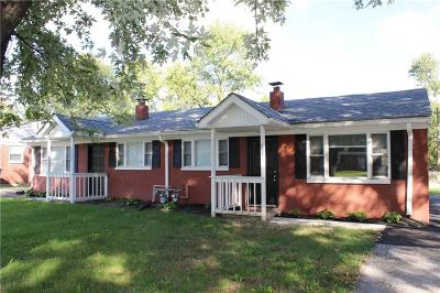Indianapolis Multi Family Home For Sale: 10641-10643 Broadway Avenue