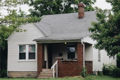 Irvington Single Family Home For Sale: 5210 East Saint Clair St