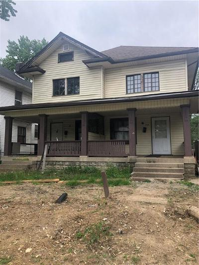 Indianapolis Multi Family Home For Sale: 3542 North College Avenue