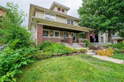 Indianapolis Single Family Home For Sale: 1306 East Vermont Street