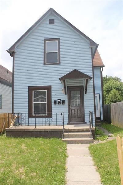 Indianapolis IN Multi Family Home For Sale: $145,000