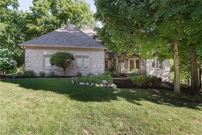 Zionsville Single Family Home For Sale: 4638 Hickory Court