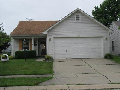 Indianapolis Single Family Home For Sale: 5106 Rocky Mountain Drive