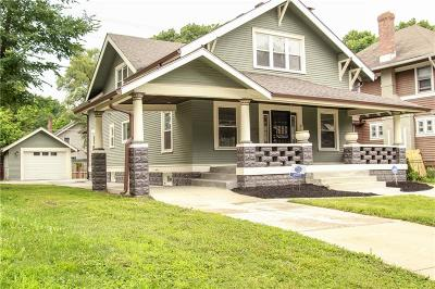 Indianapolis Single Family Home For Sale: 3310 North Broadway Street