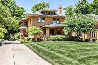 Marion County Single Family Home For Sale: 4150 North Meridian Street