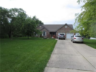 Plainfield Single Family Home For Sale: 6392 East County Road 600 South