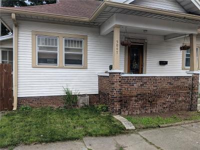 Indianapolis Single Family Home For Sale: 5047 East Michigan Street
