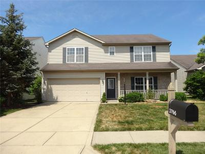 Whitestown Single Family Home For Sale: 3766 White Cliff Way