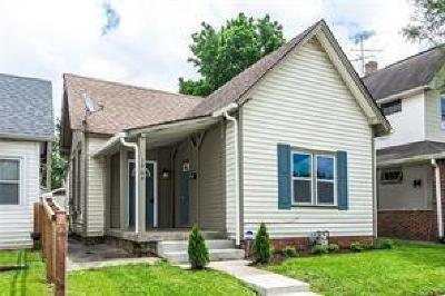 Indianapolis Single Family Home For Sale: 1909 Union Street