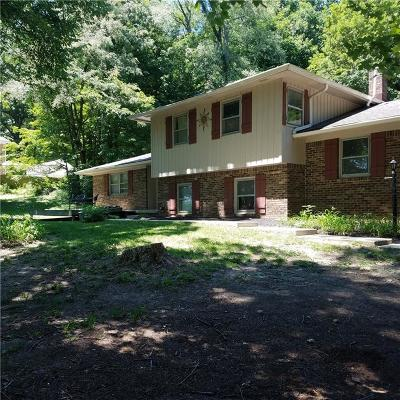 Mooresville Single Family Home For Sale: 11154 North Mann Road N