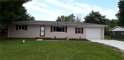 Avon Single Family Home For Sale: 2470 North County Road 600 East N