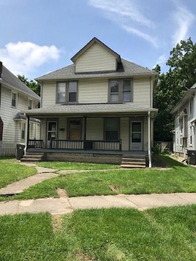 Indianapolis Single Family Home For Sale: 32 North Irvington Avenue