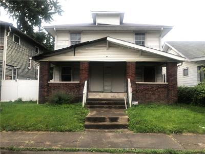Indianapolis Multi Family Home For Sale: 409 North Oakland Avenue