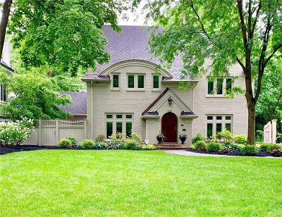 Marion County Single Family Home For Sale: 4144 North Pennsylvania Street