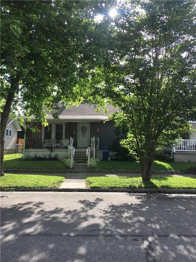 Shelbyville Single Family Home For Sale: 1119 Shelby Street