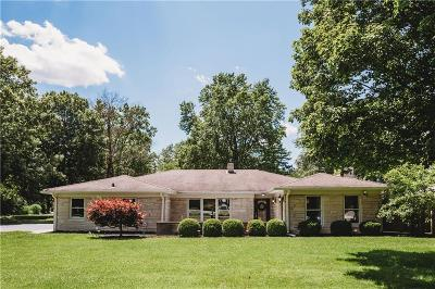 Single Family Home For Sale: 7202 North Meridian Street