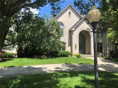 Carmel Single Family Home For Sale: 10565 Hyde Park