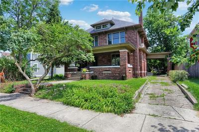 Fall Creek Place Single Family Home For Sale: 2455 Broadway Street