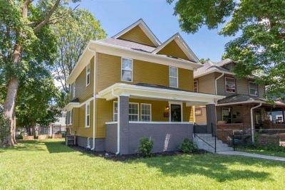 Indianapolis Single Family Home For Sale: 3061 North New Jersey Street