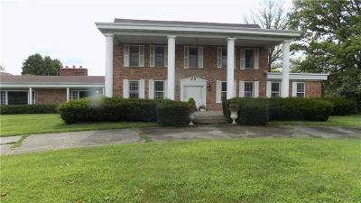 Morgan County Single Family Home For Sale: 7180 State Road 42