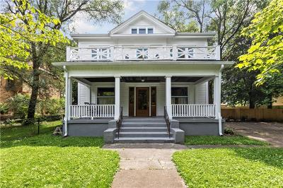 Single Family Home For Sale: 639 Woodruff Place East Drive