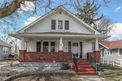 Greenwood Single Family Home For Sale: 140 North Brewer Street