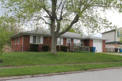 Indianapolis Single Family Home For Sale: 9215 Stardust Drive