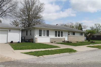 Indianapolis Single Family Home For Sale: 4803 North Longworth Avenue
