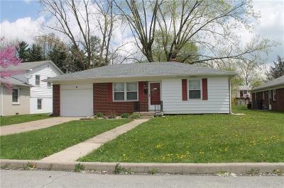 Indianapolis Single Family Home For Sale: 1407 North Bolton Avenue