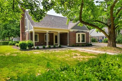 Indianapolis Single Family Home For Sale: 4602 Boulevard Place