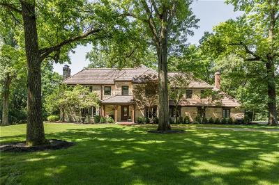 Marion County Single Family Home For Sale: 6112 Spring Mill Road