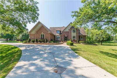 Johnson County Single Family Home For Sale: 3935 West Smokey Row Road