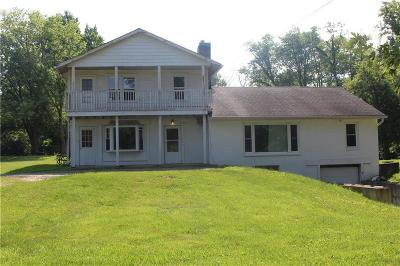 Johnson County Single Family Home For Sale: 3141 South Old Us Highway 31
