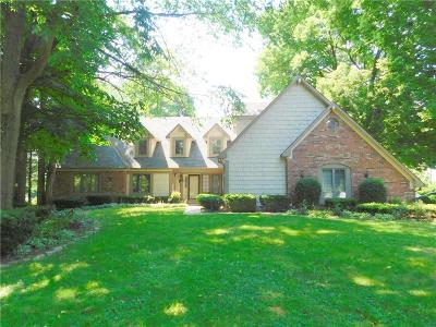 Indianapolis Single Family Home For Sale: 5310 Allisonville Road