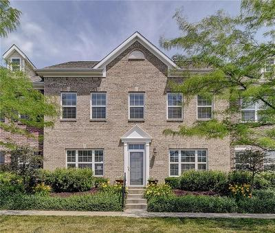 Fishers Condo/Townhouse For Sale: 13255 Minden Drive
