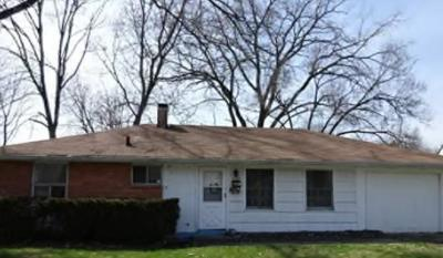 Indianapolis Single Family Home Sold: 4102 North Webster Avenue