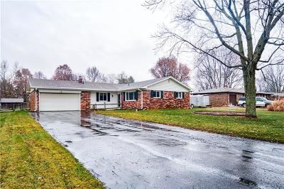 Hendricks County Single Family Home For Sale: 7840 Sharon Drive