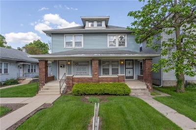 Indianapolis Multi Family Home For Sale: 3543 North College Avenue