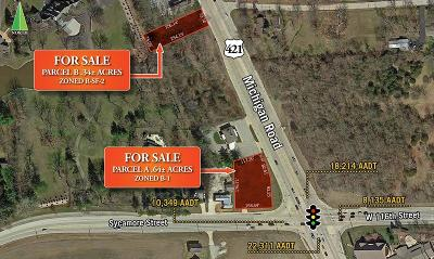 Zionsville Commercial Lots & Land For Sale: 11602 North Michigan Road N