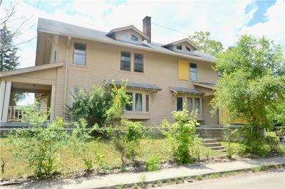 Indianapolis Single Family Home For Sale: 3266 Ruckle Street