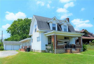 Martinsville Single Family Home For Sale: 260 North Main Street