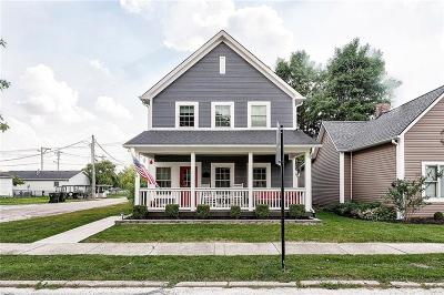 Fortville Single Family Home For Sale: 522 South Main Street