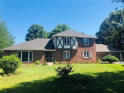 Johnson County Single Family Home For Sale: 3550 West Smokey Row Road