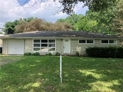 Delaware County Single Family Home For Sale: 2008 South Manville Road