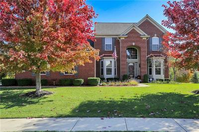 Fishers Single Family Home For Sale: 12417 Talon Crest Drive