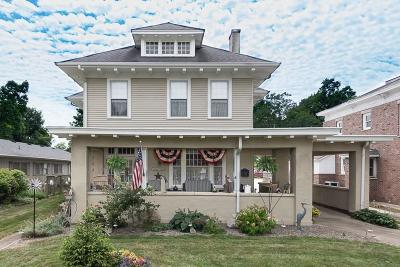 Montgomery County Single Family Home For Sale: 409 East Wabash Avenue